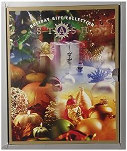 Stash Tea Holiday Teas Six Flavor Gift Set with Festive Holiday Lid