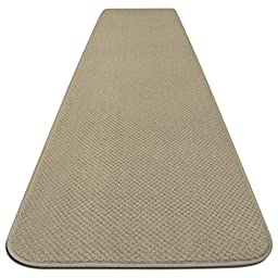 Skid-resistant Carpet Runner - Ivory Cream - 4 Ft. X 27 In. - Many Other Sizes to Choose From