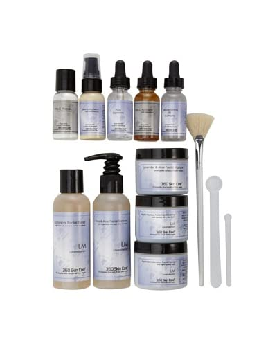 "360 Skin Care The ""Works"" Lavendermint 13-Piece Facial Collection"