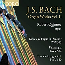 J.S. Bach Organ Works Volume II