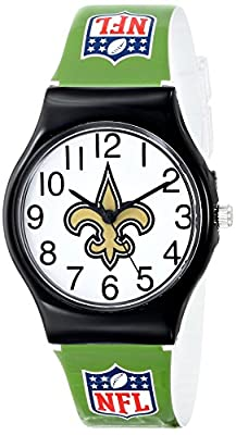 "Game Time Youth NFL-JV-NO ""JV"" Watch - New Orleans Saints"