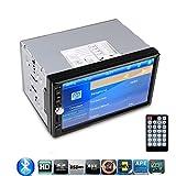 "HD 7"" TFT Car FM Radio Bluetooth Phone Call MP5 Player 2-DIN 12V Car Audio Video MP3/MP4/MP5 Music Video Stereo..."
