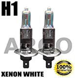 H1 55W XENON SUPER WHITE 448 HID HEADLIGHT BULBS MAZDA 323 2l SPORT