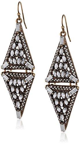 Panacea Antique Crystal Diamond Earrings