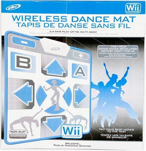 Wii & GameCube Wireless Dance Mat