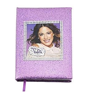 carnet journal intime violetta paillettes a5. Black Bedroom Furniture Sets. Home Design Ideas