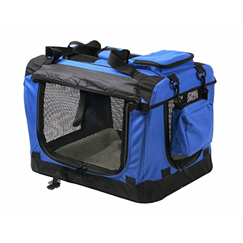 miahomeTransportbox-Faltbare-Hundebox-Hundetransportbox-Box-Royal-Blau-7-Gre-XXXXL-122x79x79cm
