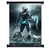 Metal Gear Solid 4 Guns of Patriots Game Fabric Wall Scroll Poster (31