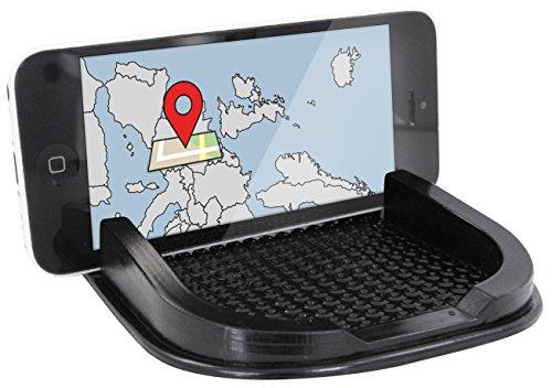 Eaxus Anti-Rutsch Handy/Smartphone und Navi-Halterung für Armaturenbrett