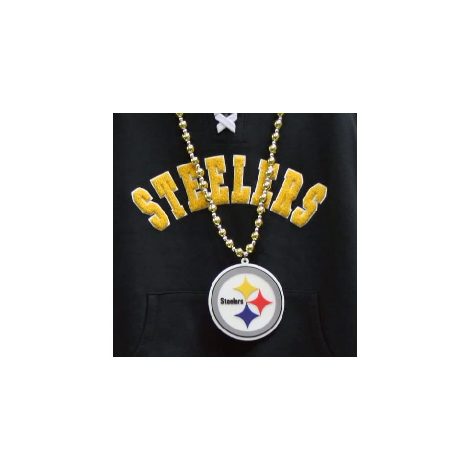 NFL Pittsburgh Steelers Team Logo Beads