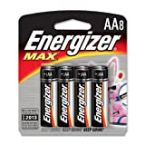 AA Batteries by Energizer® MAX® (Pack of 8)