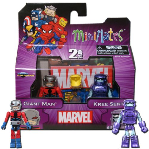 Marvel MiniMates Series 44 Mini Figure 2Pack Giant Man Kree Sentry