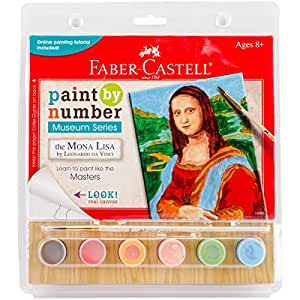 Faber Castell Faber Castell Paint By Number Museum Series The Mona Lisa By Leonardo Da Vinci