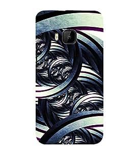 99Sublimation Modern Art Design Pattern 3D Hard Polycarbonate Back Case Cover for HTC One M9