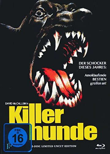 Killerhunde - Uncut/Mediabook (+ DVD) [Blu-ray] [Limited Edition]
