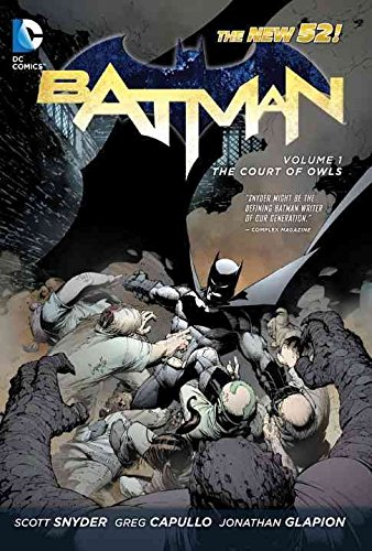[Batman: The Court of Owls Vol 01] (By: Greg Capullo) [published: May, 2012]