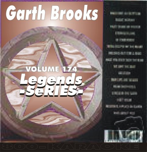 Garth Brooks 16 Song Karaoke CD+G Legends #174