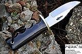 Handmade Hunting Knife - Beautiful Camping Knife - 440c Steel blade & Buffalo Horn Handle