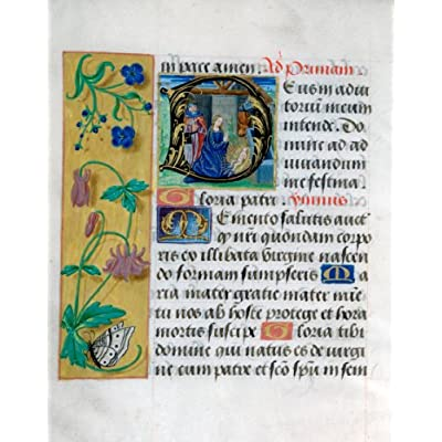 Greetings Card: 'Book of Hours' Christmas Cards