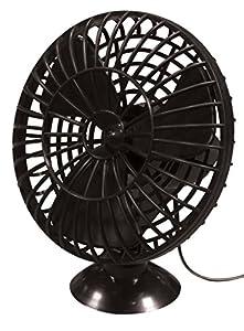 Streetwize SWCF1 Plastic Oscillating Fan 12 V 5-inch