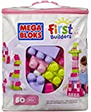 Mega Bloks Pink Buildable Bag (60 Pieces)(1)