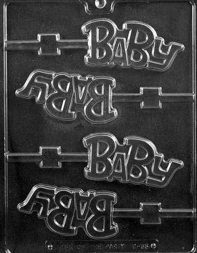 BABY LOLLY Baby Candy Mold Chocolate