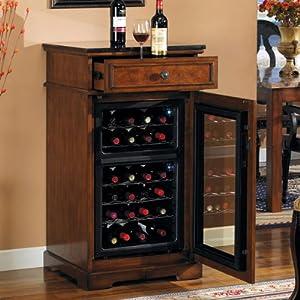 Madison Wine Cabinet in Rose Cherry DC997C240-2424