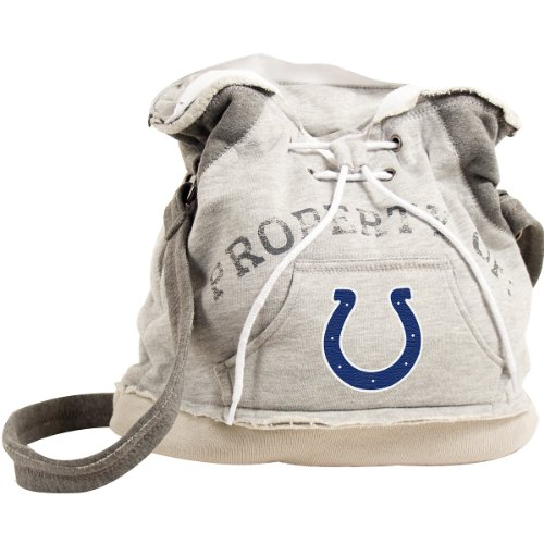 Littlearth Indianapolis Colts Hoodie Duffel Bag