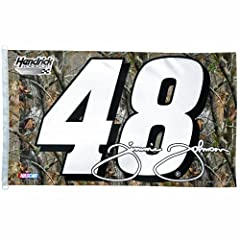 NASCAR Jimmie Johnson 3-by-5 Realtree Foot Flag by WinCraft