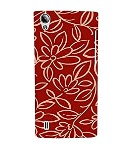 EPICCASE Flower outlines Mobile Back Case Cover For Vivo Y15 (Designer Case)