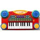 PowerTRC® Electronic Music Piano Keyboard for Kids (Red)