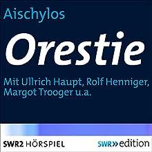 Orestie Hörspiel von  Aischylos Gesprochen von: Ullrich Haupt, Rolf Henniger, Margot Trooger, Hanns-Georg Laubenthal, Gerhard Geisler