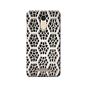 MIKZY Abstract Patten Printed Designer Back Cover Case for Xiaomi Redmi Note 3 (MultiColour)