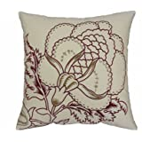 Waverly Imperial Dress Brick Front Panel Embroidered Pillow