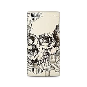 Mobicture Skull Abstract Premium Printed Case For Vivo Y15
