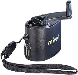revolt Universal-Dynamo-Ladegerät für Handy & USB-Geräte