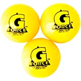 Mylec Cold Weather Liquid Filled G-Forece Hockey Balls, (Pack Of 3) YELLOW