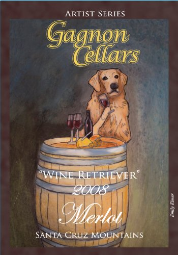"2008 Gagnon Cellars ""Wine Retriever"" Santa Cruz Mountains Merlot 750 Ml"