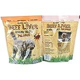 2 Pack Trader Joe's Beef Liver Begging Treats for Dogs