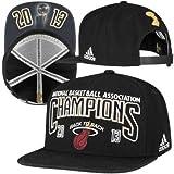 Miami Heat 2013 NBA Finals Adidas Champions Locker Room Adjustable Hat