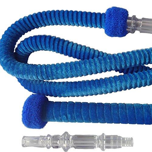 Rocsai-Hookah-Hose-78-Washable-Hookah-Hose-Detachable-mouth-Tip-Blue
