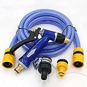 New Watering Gun Kit Hose Sprayer Nozzle Lawn Garden Irrigate Car Washing Tools