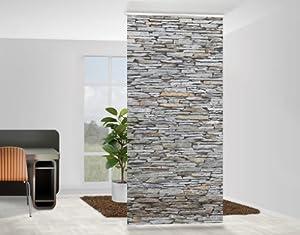 mantiburi design raumteiler mallorca stonewall steinwand schiebe. Black Bedroom Furniture Sets. Home Design Ideas