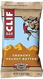 CLIF BAR - Nutrition & Energy Bar - Crunchy Peanut Butter - 2.4 oz