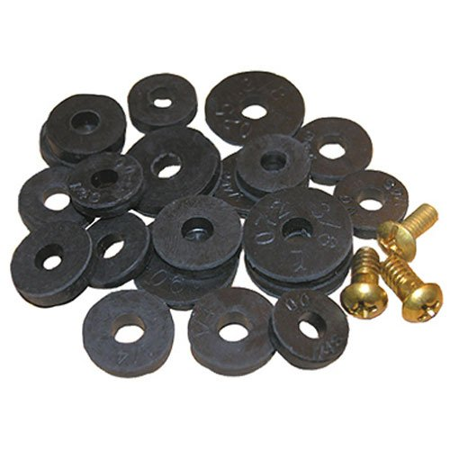 LASCO 02-1263 Washer Assortment Flat Washers with Screws (Faucet Gasket compare prices)