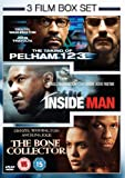 3 Film Box Set: Taking Of Pelham 123/Inside Man/Bone Collector [DVD]