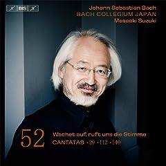Bach: Cantatas, Vol. 52