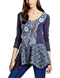 Joe Browns Women's Perfection Tunic Blouse, Blue, 18