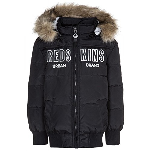 Redskins Junior-Piumino Redskins Benet Junior, colore: nero nero 10 anni