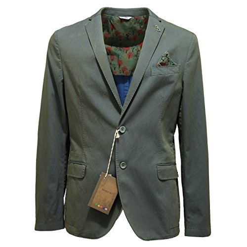 9781N giacca MANUEL RITZ verde giacche uomo jackets men [56]